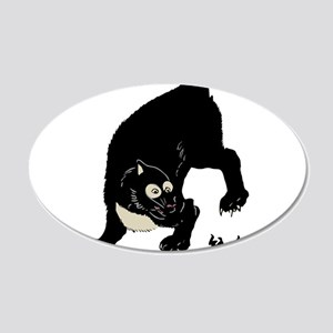 japstylecatthing 20x12 Oval Wall Decal