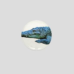 Mad Crocodile Mini Button