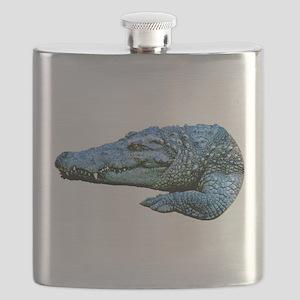 Mad Crocodile Flask