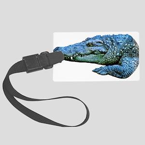 Mad Crocodile Large Luggage Tag