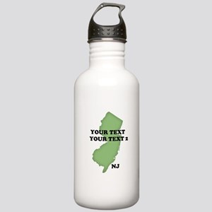 NJ YOUR TEXT Stainless Water Bottle 1.0L