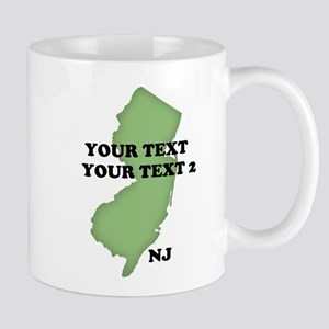 NJ YOUR TEXT Mug