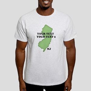 NJ YOUR TEXT Light T-Shirt