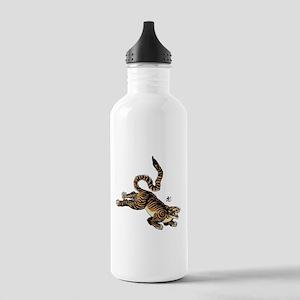 Japanese Tiger Art Stainless Water Bottle 1.0L