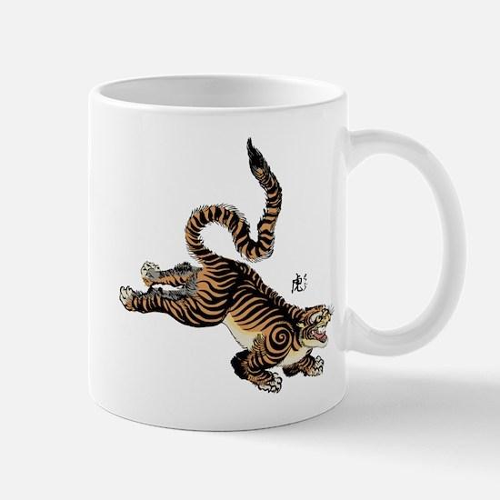 Japanese Tiger Art Mug
