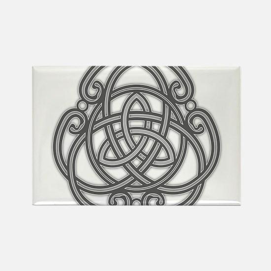 Knot Design Rectangle Magnet