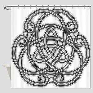 Knot Design Shower Curtain