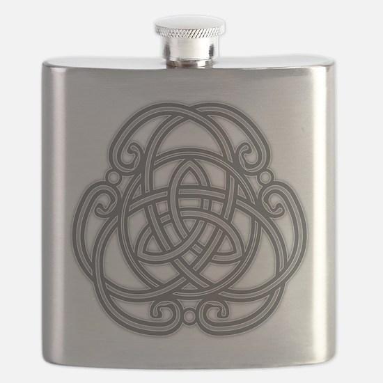 Knot Design Flask