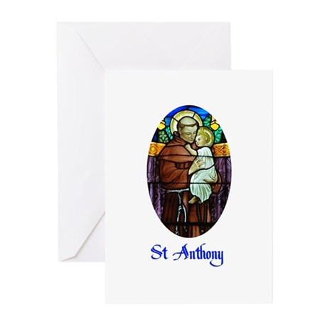 St Anthony Greeting Cards (Pk of 10)