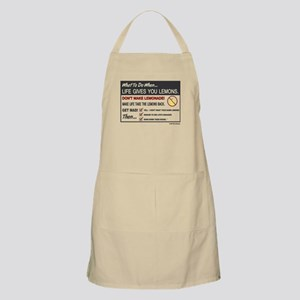 Life gives you lemons Apron