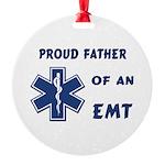 EMT Father Round Ornament