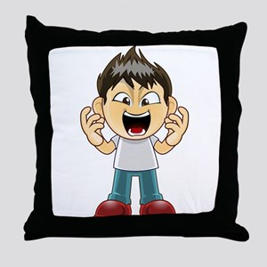 mangaguy18 Throw Pillow