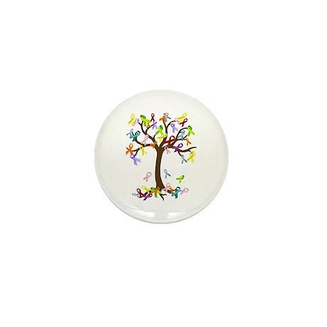 Ribbon Tree Mini Button