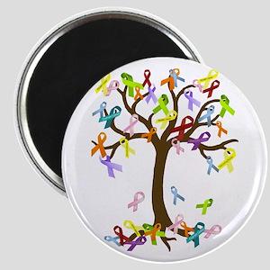 Ribbon Tree Magnet
