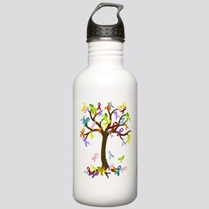 Ribbon Tree Stainless Water Bottle 1.0L
