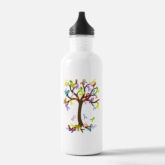 Ribbon Tree Water Bottle