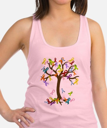 Ribbon Tree Racerback Tank Top