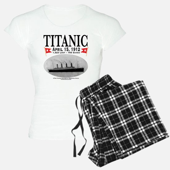 Titanic Ghost Ship (white) Pajamas