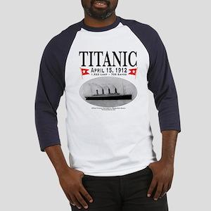 Titanic Ghost Ship (white) Baseball Jersey