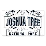 Joshua Tree National Par Sticker (Rectangle 10 pk)