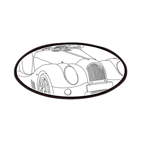 classic car art patches cafepress 2013 Ford Mustang Grabber Blue