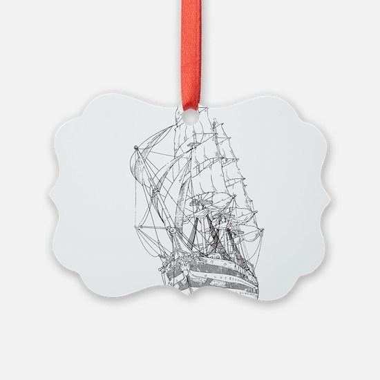 Ship Ornament