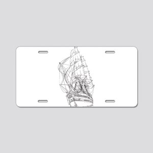 Ship Aluminum License Plate