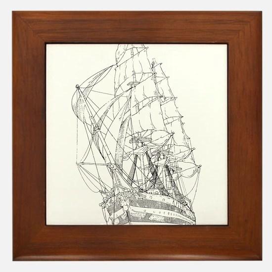 Ship Framed Tile