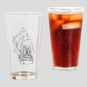 Ship Drinking Glass