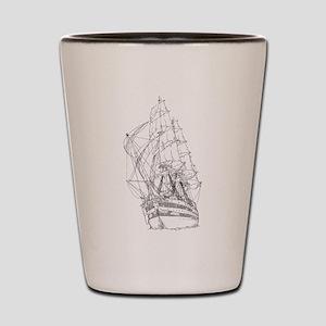 Ship Shot Glass