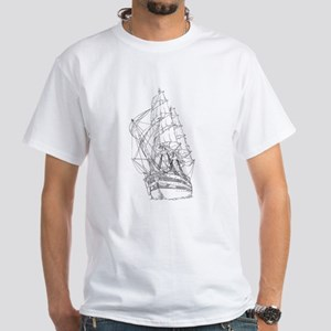 Ship White T-Shirt