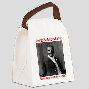 Georgewashingtoncarver-1 Canvas Lunch Bag