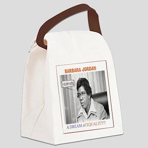 BarbaraJordanDream Canvas Lunch Bag