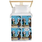 Halloween Daddys Home Saw Mask Twin Duvet