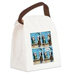 Halloween Daddys Home Saw Mask Canvas Lunch Bag