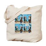 Halloween Daddys Home Saw Mask Tote Bag