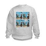 Halloween Daddys Home Saw Mask Kids Sweatshirt
