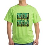 Halloween Daddys Home Saw Mask Green T-Shirt