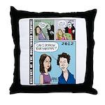 Halloween Evolution of the Vampire Throw Pillow