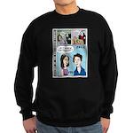Halloween Evolution of the Vampire Sweatshirt (dar