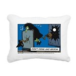Halloween Daddys Home Witch Rectangular Canvas Pil
