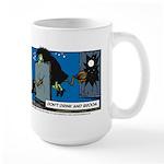 Halloween Daddys Home Witch Large Mug