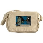 Halloween Daddys Home Witch Messenger Bag