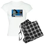 Halloween Daddys Home Witch Women's Light Pajamas