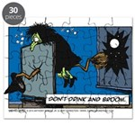 Halloween Daddys Home Witch Puzzle