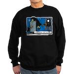 Halloween Daddys Home Witch Sweatshirt (dark)