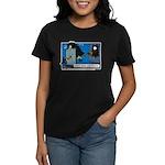 Halloween Daddys Home Witch Women's Dark T-Shirt