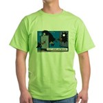 Halloween Daddys Home Witch Green T-Shirt