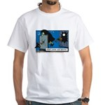 Halloween Daddys Home Witch White T-Shirt