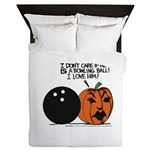 Halloween Daddys Home Pumpkin Queen Duvet